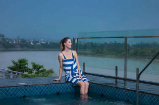 Hotel Ganga Kinare, Rishikesh-in-pool
